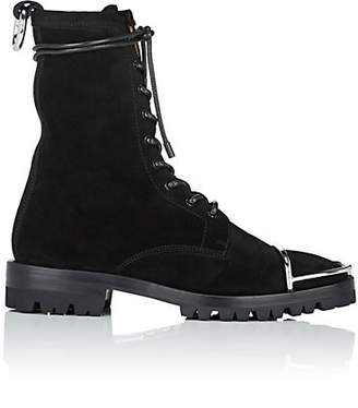 Alexander Wang Women's Kennah Suede Ankle Boots - Black