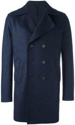 Harris Wharf London double-breasted mid coat
