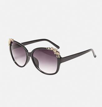 Avenue Butterfly Scroll Sunglasses