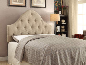 Howe Darby Home Co Curved B/T King Upholstered Panel Headboard