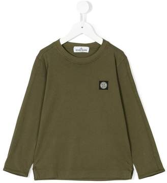 Stone Island Junior long sleeved T-shirt