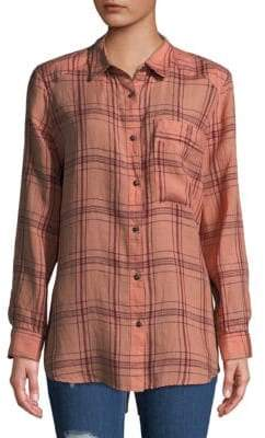 Free People No Limits Button-Down Top