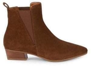 Aquatalia Farica Suede Chelsea Boots