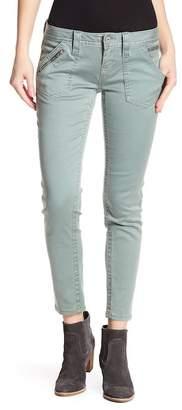 Miss Me Topstitch Ankle Skinny Jeans