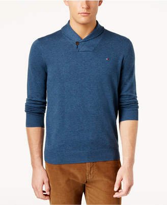 Tommy Hilfiger Men's Springfield Shawl-Collar Sweater, Created for Macy's