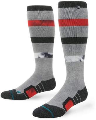 Stance Men's Flood Path Snowboard Socks / Heather / M