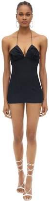 Jacquemus Linen Mini Dress