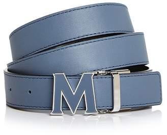 3d330f74b22 MCM Women s Enamel Logo Buckle Leather Belt