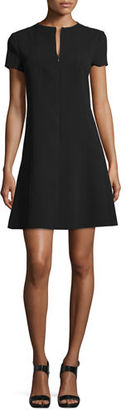 Theory Apalia Admiral Crepe Dress $365 thestylecure.com