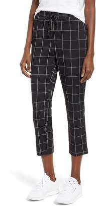 UNIONBAY Union Bay Windowpane Check Crop Pants