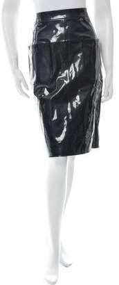 Chanel Paris-Seoul Lambskin Pencil Skirt w/ Tags