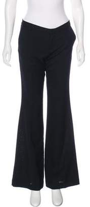 Marc by Marc Jacobs Wool Mid-Rise Pants