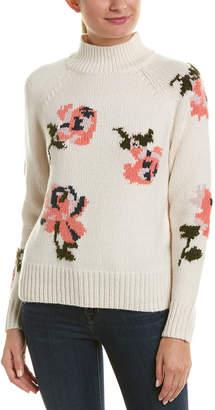Rebecca Taylor Turtleneck Wool-Blend Sweater