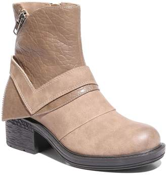 Moto 2 Lips Too Mind Women's Ankle Boots