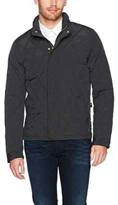 Scotch & Soda Men's Classic Lightweight Padded Jacket with Diamond Quilting