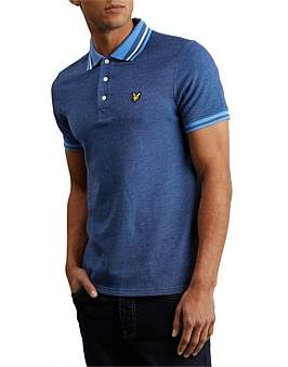 Lyle & Scott Oxford Tipped Polo Shirt