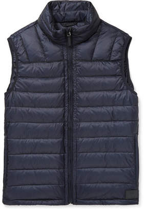 Dunhill Quilted Shell Down Gilet
