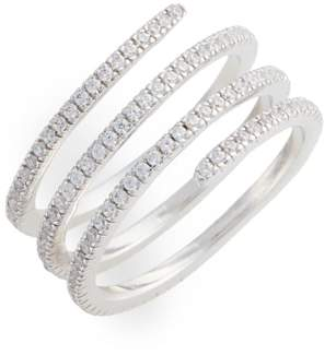 Nordstrom Pave Coil Ring