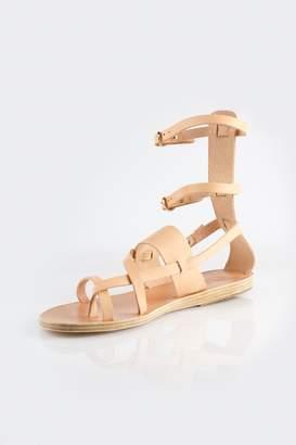 Ancient Greek Sandals Alethea Mid Gladiator