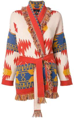 Alanui belted cashmere cardigan