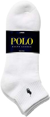 Polo Ralph Lauren Mens Big and Tall 3-Pack Sport Socks