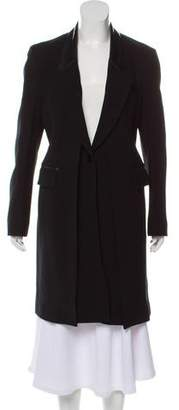 3.1 Phillip Lim Wool Leather-Trimmed Coat
