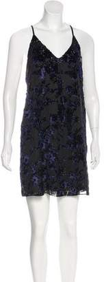 Alice + Olivia Velvet Devoré Dress