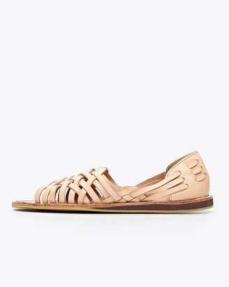 Nisolo Topanga Peeptoe Sandal Natural
