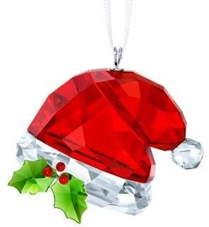 Swarovski Santa's Hat Crystal Ornament