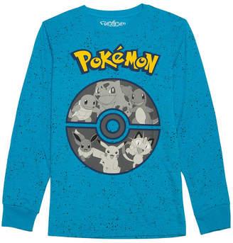 Pokemon Novelty T-Shirts Graphic T-Shirt Boys