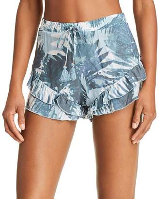 Surf Gypsy Ruffled Shorts Swim Cover-Up