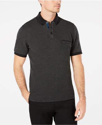 Ryan Seacrest Distinction Men's Textured Pique Polo