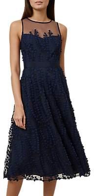 Hobbs Felicity Dress, Navy
