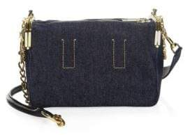 Sacai Denim Crossbody Coin Purse