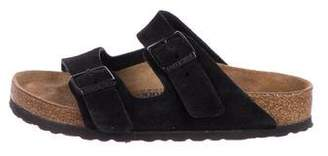 Birkenstock Arizona Suede Slide Sandals