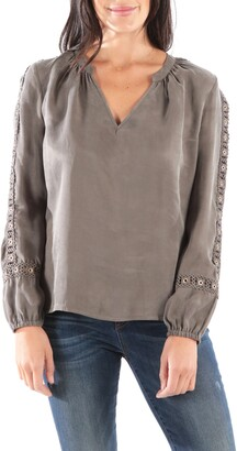 KUT from the Kloth Abbigail Blouse