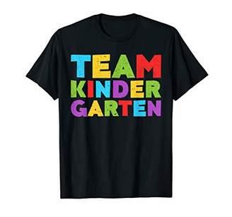 Team Kindergarten T-Shirt Back To School Gift Shirt