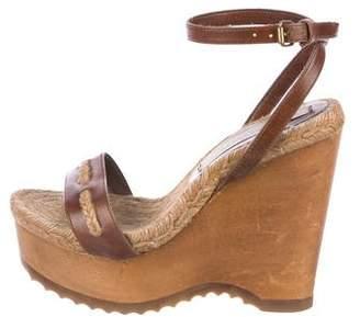 Stella McCartney Vegan Wedge Sandal