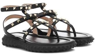 Valentino Free Rockstud leather sandals