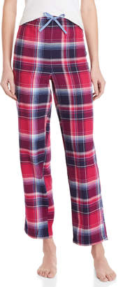 Nautica Plaid Flannel Pajama Pants