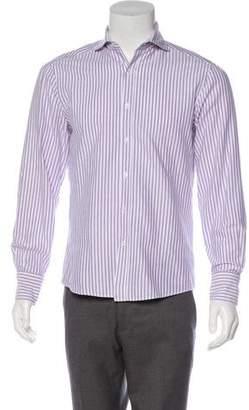 Michael Bastian Striped Button-Up Shirt