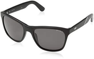 Police Men's S1859 Crypto 3 Wayfarer Sunglasses