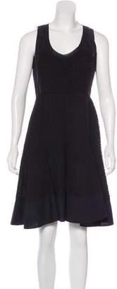 Prada Matelassé A-Line Dress