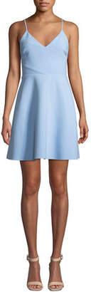 LIKELY Austin Sleeveless V-Neck Short Dress