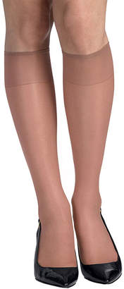 Hanes 2-pk. Knee-High Reinforced Toe Hosiery