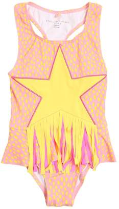 Stella McCartney Star Patch Lycra One Piece Swimsuit