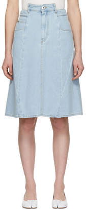 Maison Margiela Blue Denim Skirt