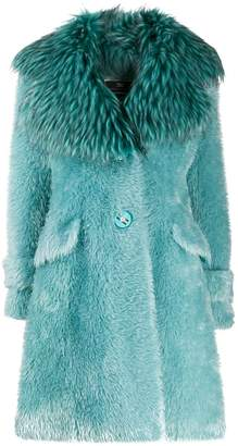 Elisabetta Franchi oversized coat