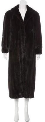 Nina Ricci Mink Long Coat