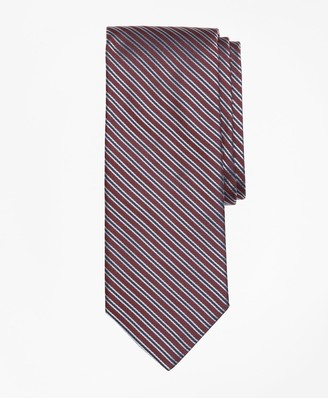 Brooks Brothers Textured Split Stripe Tie